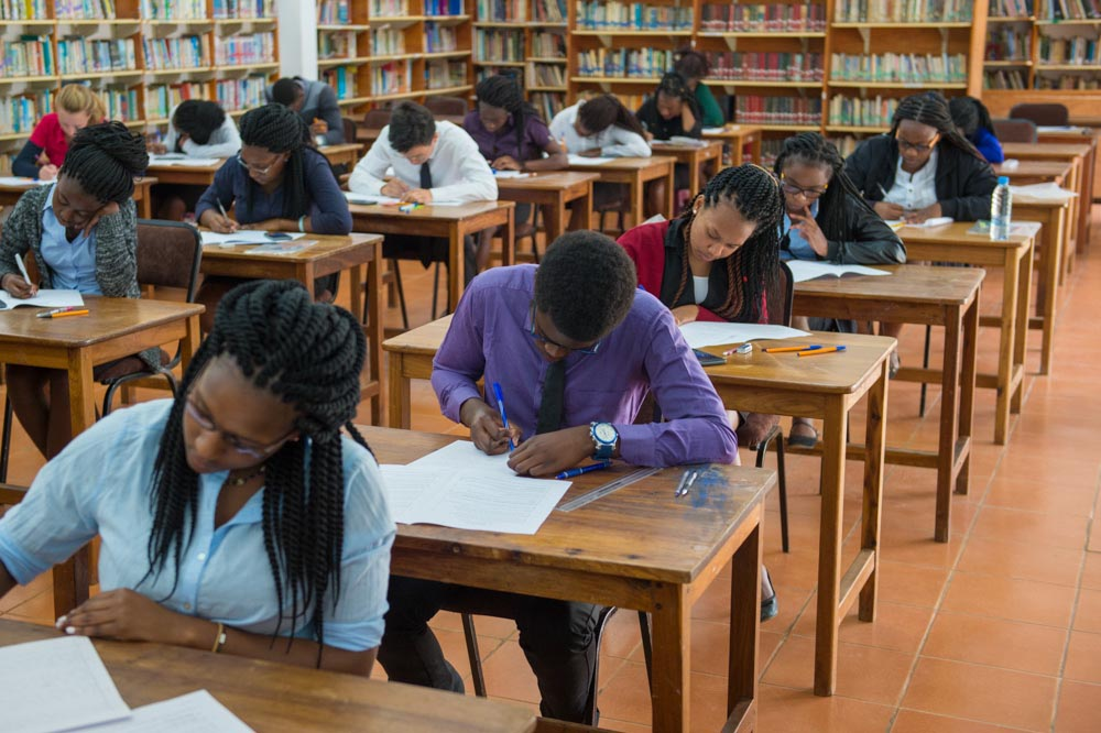 Chengelo students working hard